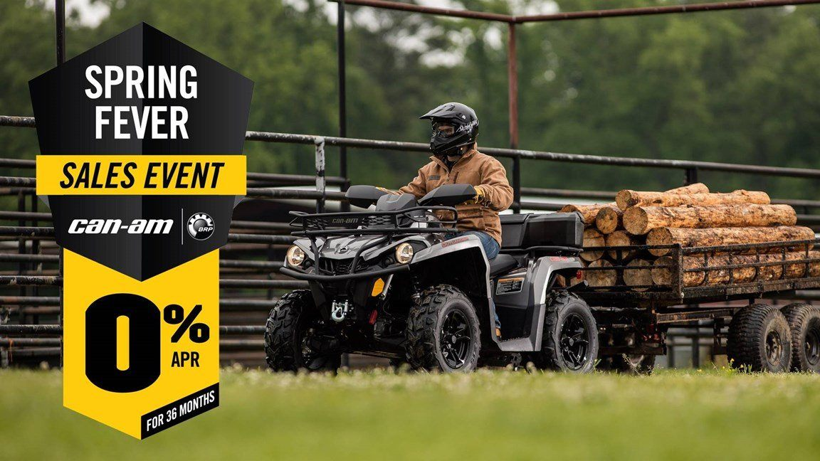 Can-Am Spring Fever Sales Event Outlander L Offer